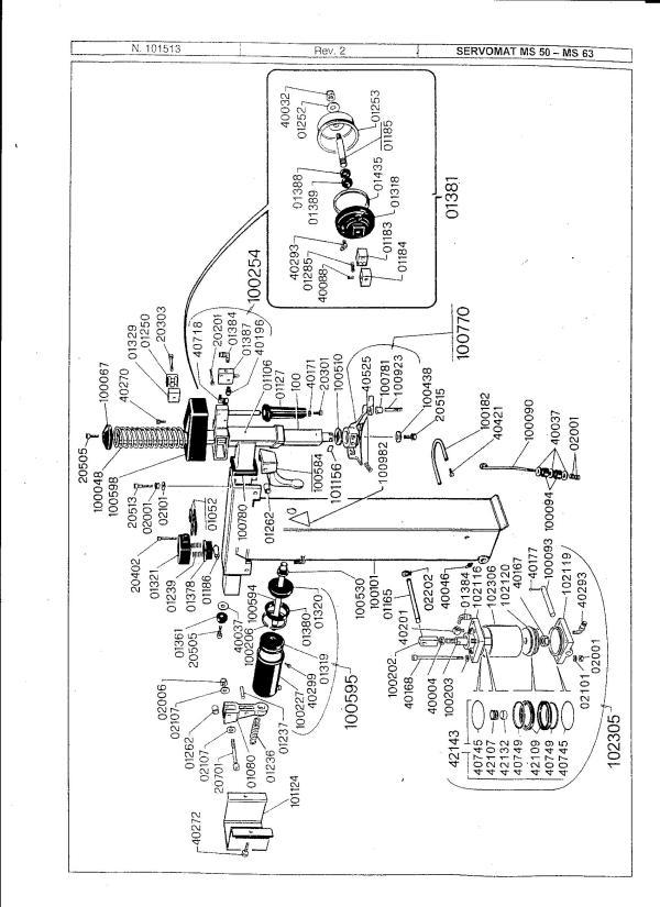 beissbarth servomat diagrams